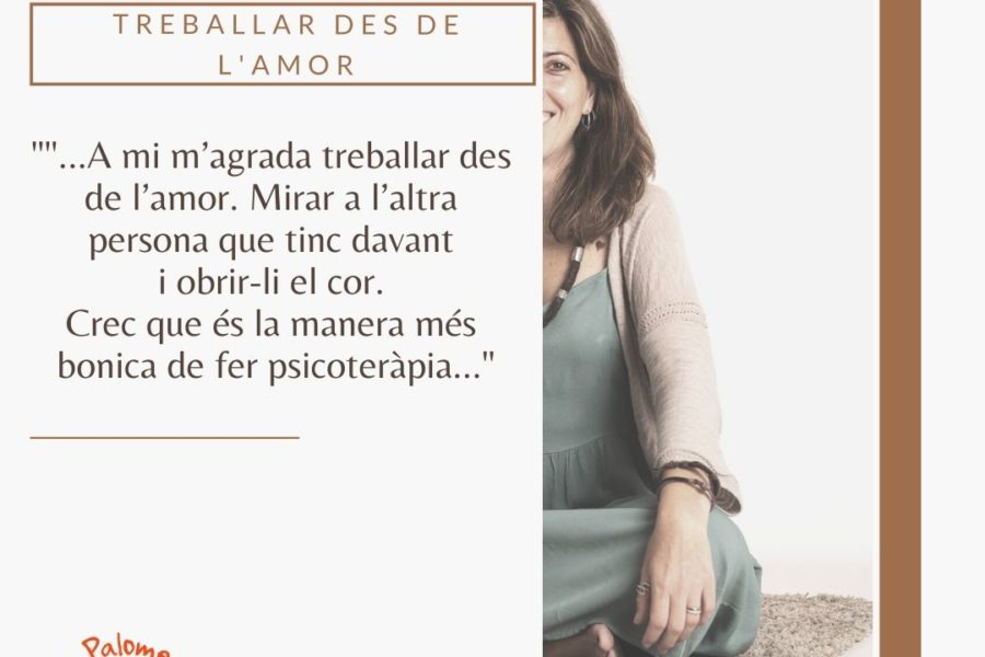 TREBALLAR DES DE L'AMOR